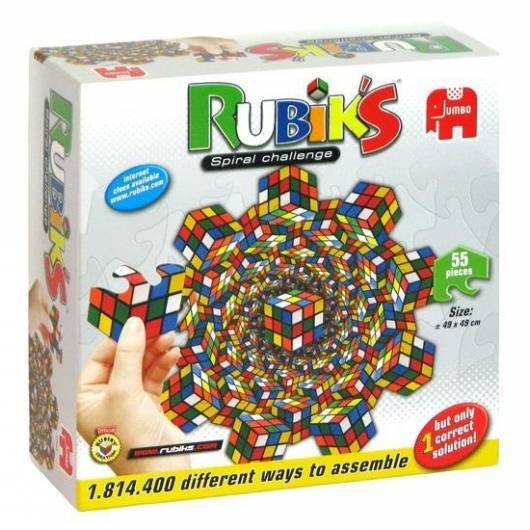 Rubik's Spiral Challenge