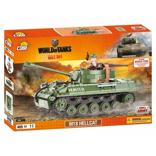 COBI Mała Armia World of Tanks M18 Hellcat 465 kl. (3006)