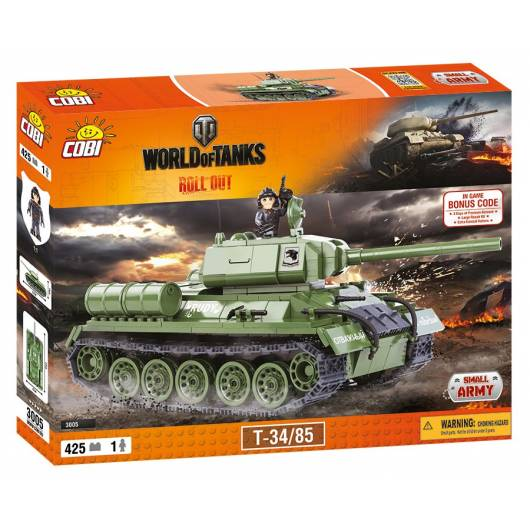 COBI Mała Armia World of Tanks T-34/85 425 kl. (3005)