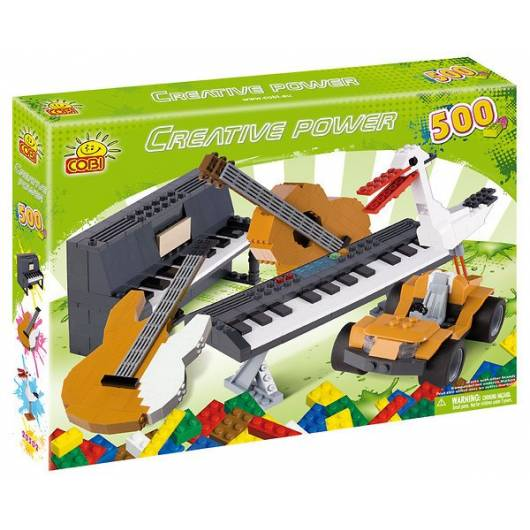 COBI Creative Power Pianino, bocian 500 kl. (20502)