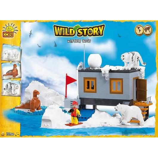 COBI Wild Story Baza Zimowa 300 kl. (22300)