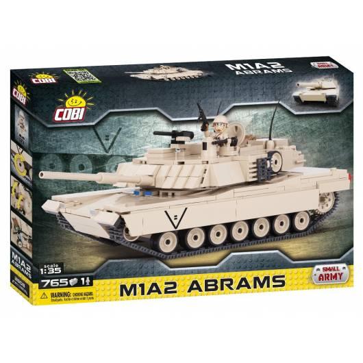 COBI M1A2 Abrams - amerykański czołg podstawowy 1:35 765 kl. (2608)