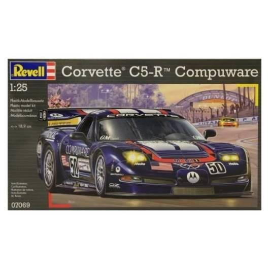 REVELL 1:25 Corvette C5-R Compuware (07069)