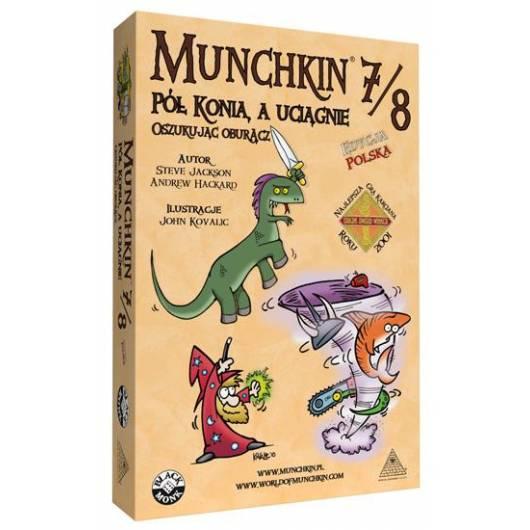 Munchkin 7/8 - Pół konia, a uciągnie oszukując oburącz