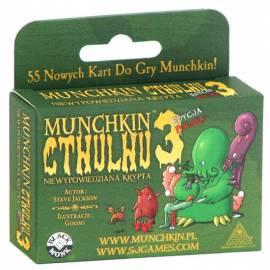 Munchkin Cthulhu 3 - niewypowiedziana krypta
