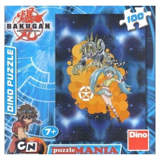 Puzzle 100 Bakugan Runo and Tige DINO