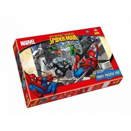 Puzzle 100 Spiderman Atak TREFL