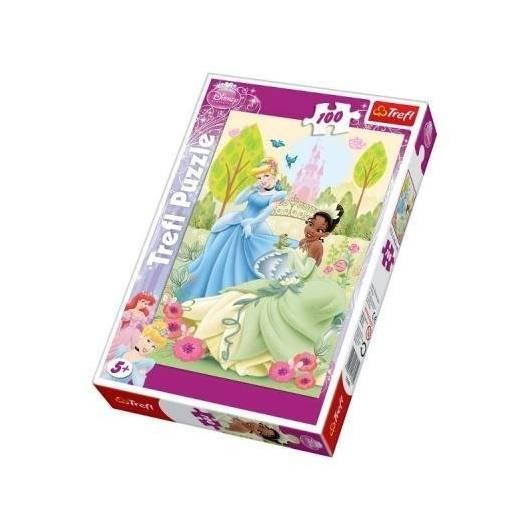 Puzzle 100 Księżniczki Wiosenne oczekiwanie TREFL