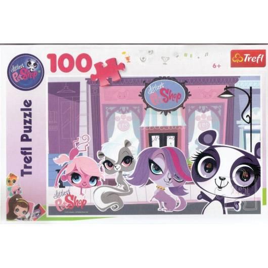 Puzzle 100 Littlest Pet Shop. Na ulicy TREFL
