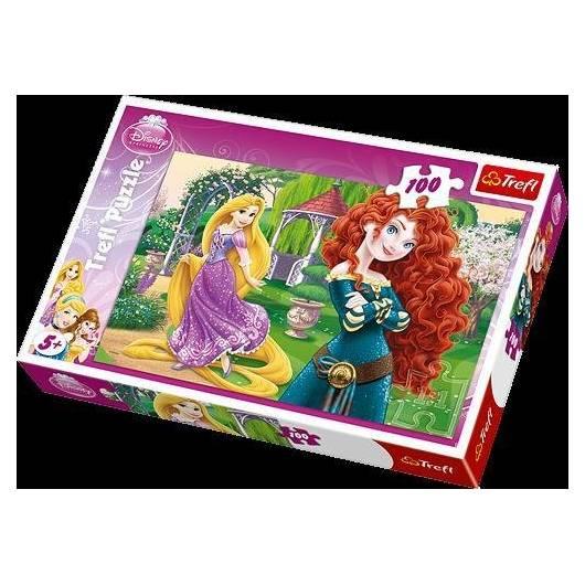 Puzzle 100 Zadziorne księżniczki TREFL