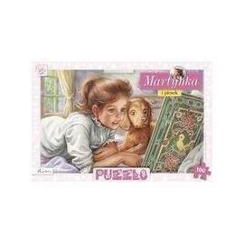 Puzzle 100 - Martynka i piesek