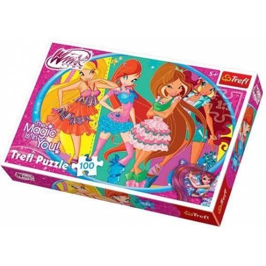 Puzzle 100 Przyjaciółki z Winx Club TREFL