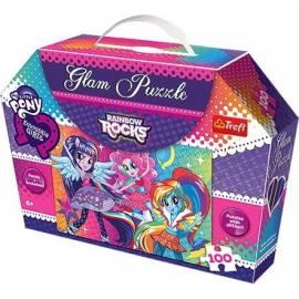 Glam Puzzle - Tęczowy rock TREFL