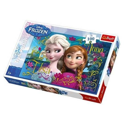 Puzzle 100 Frozen TREFL