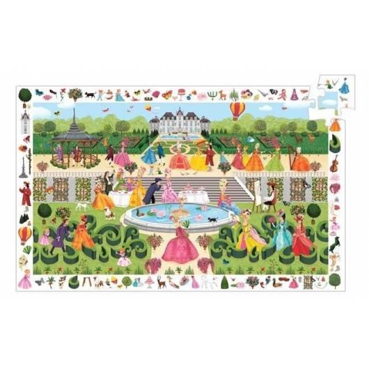 Puzzle z plakatem - Przyjęcie w ogrodzie