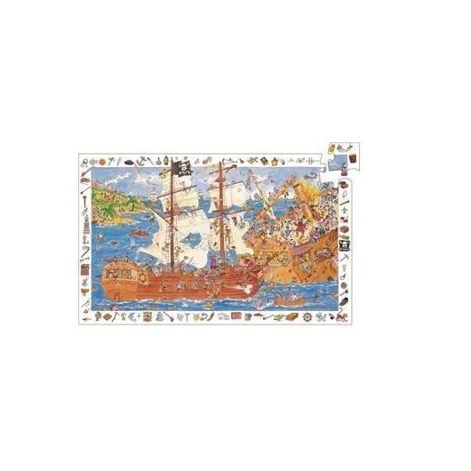 Puzzle z plakatem - Piraci