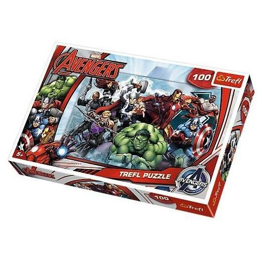 Puzzle 100 - Avengers. Do ataku TREFL
