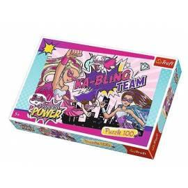 Puzzle 100 - Barbie - super księżniczka TREFL