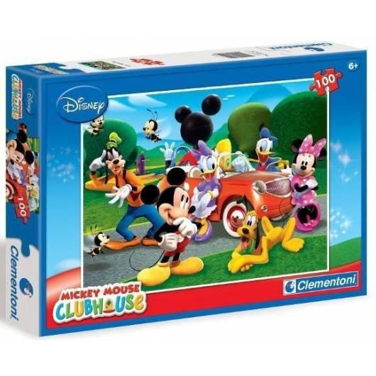 Puzzle 100 Klub przyjaciół Myszki Mickey