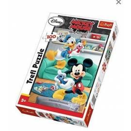 Puzzle 100 - Miki i Donald TREFL