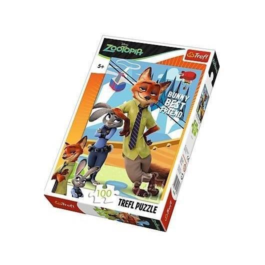 Puzzle 100 - Judy i Nick TREFL