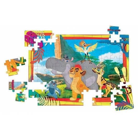 Puzzle 100 Maxi Kól Lew - Lwia Straż