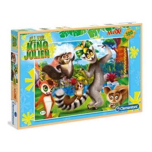 Puzzle 100 Maxi Król Julian