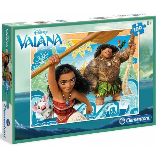 Puzzle 100 Skarb Oceanu - Vaiana
