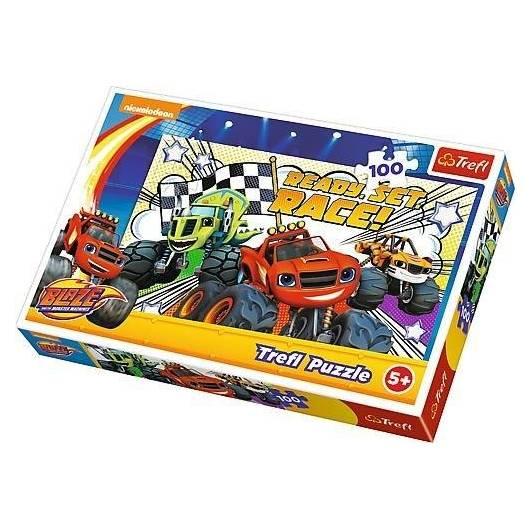 Puzzle 100 Gotowi na wyścig TREFL