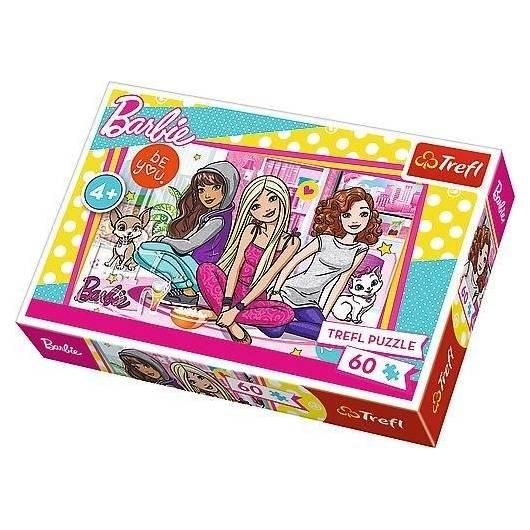 Puzzle 100 Barbie i przyjaciółki TREFL