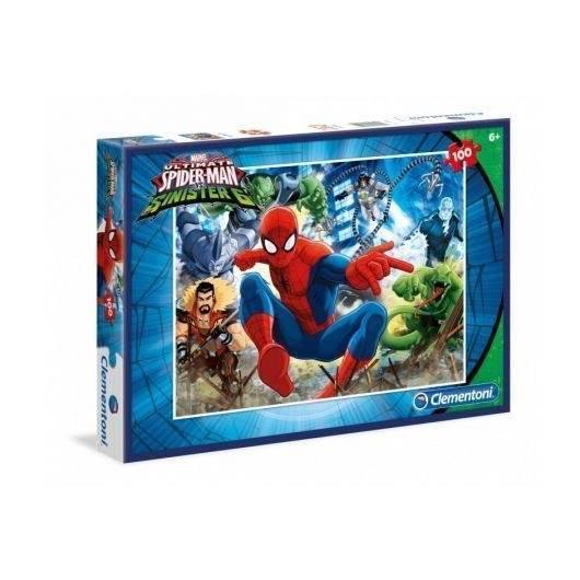 Puzzle 100 el. SpiderMan Sinister Six