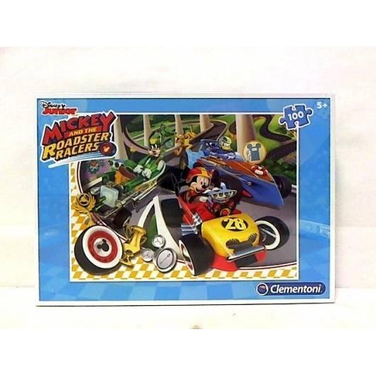 Puzzle 100 el. Mickey Roadster Racers