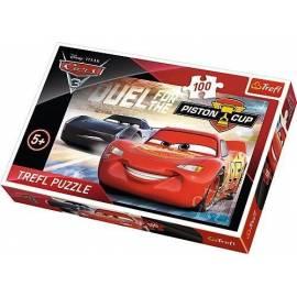 Puzzle 100 Auta 3 - Piston Cup TREFL
