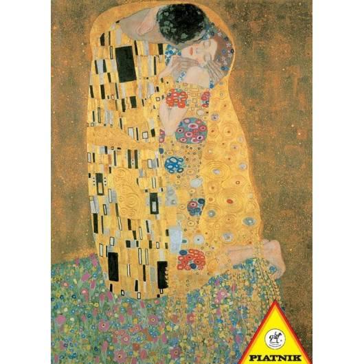 Puzzle 1000 - Klimt. Pocałunek PIATNIK