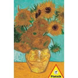 Puzzle 1000 - van Gogh, Słoneczniki w.2 PIATNIK