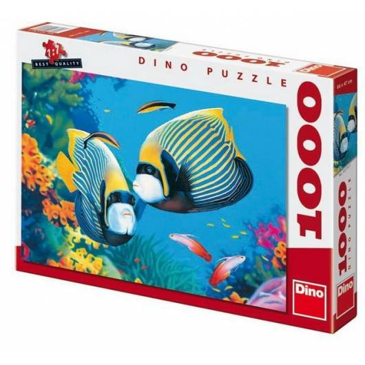 Puzzle 1000 W oceanie DINO