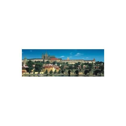 Puzzle 1000 Panoramic Zamek w Pradze DINO