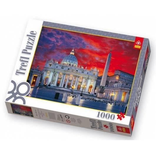 Puzzle 1000 Bazylika Św. Piotra, Rzym TREFL