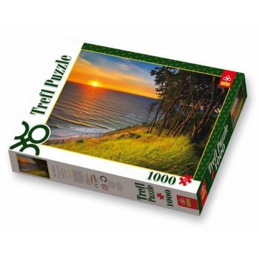 Puzzle 1000 Bałtyk o zachodzie słońca TREFL