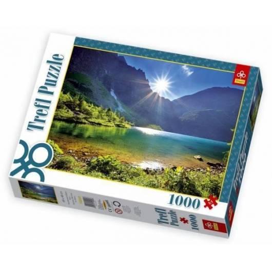 Puzzle 1000 Nad Morskim Okiem, Tatry TREFL