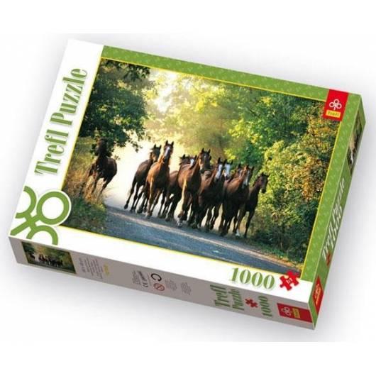 Puzzle 1000 Stadnina koni Widzów, Polska TREFL