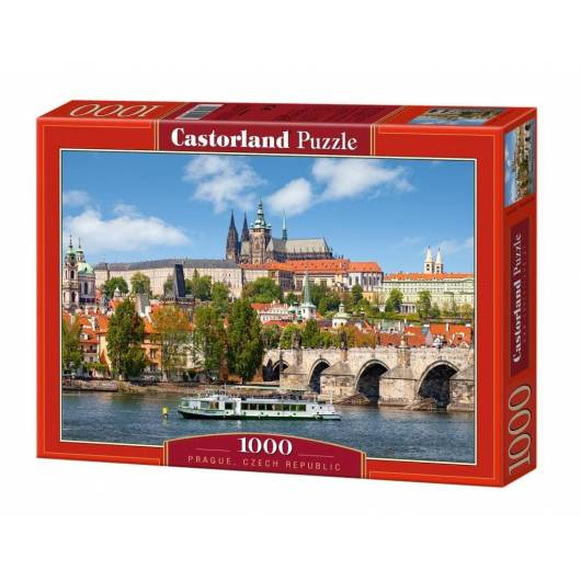 Puzzle 1000 Praga - Czechy CASTOR