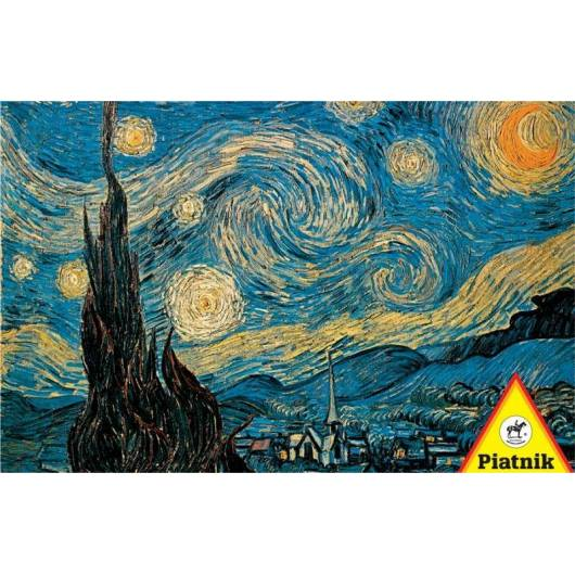 Puzzle 1000 - Van Gogh, Gwiaździsta noc PIATNIK
