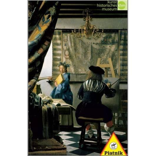 Puzzle 1000 - Vermeer, Alegoria malarstwa PIATNIK
