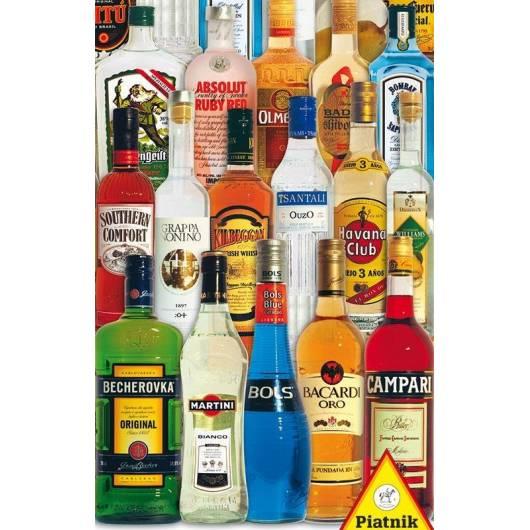 Puzzle 1000 - Alkohole świata PIATNIK
