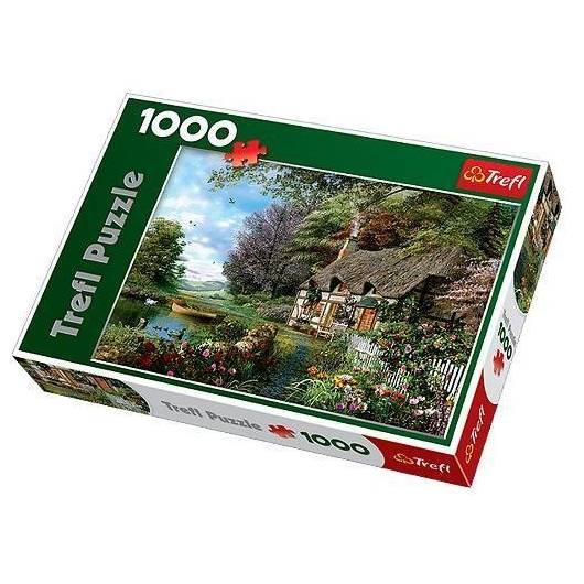Puzzle 1000 Uroczy zakątek TREFL