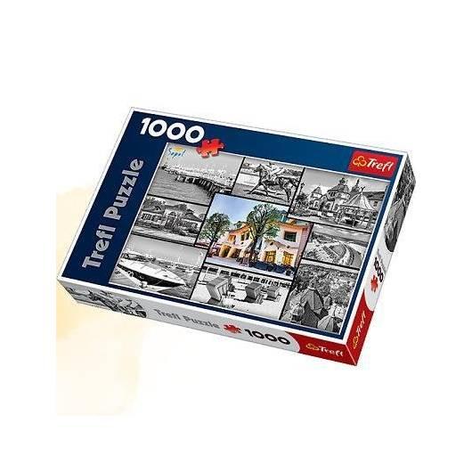 Puzzle 1000 Sopot kolaż TREFL