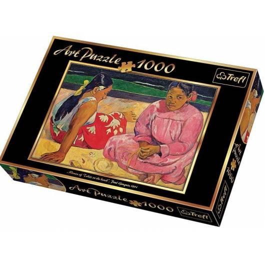Puzzle 1000 Art Tahitańskie kobiety na plaży TREFL