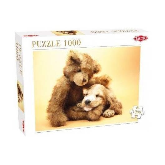 Puzzle 1000 Szczeniak i miś