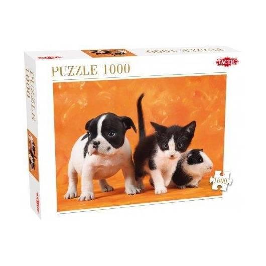 Puzzle 1000 Małe zwierzątka